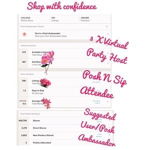 Other - Shop my Closet with Confidence 😊💕